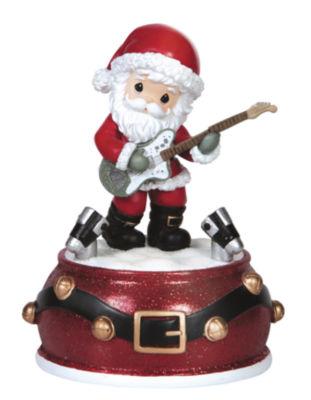 """Precious Moments  """"Santa Musical""""  Resin MusicBox  #151109"""