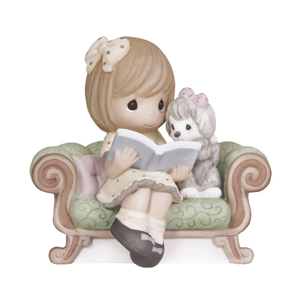 "Precious Moments  ""The Best Adventures Are Shared With A Friend""  Bisque Porcelain Figurine  #132017"