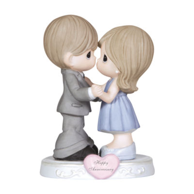 """Precious Moments  """"Through The Years""""  BisquePorcelain Figurine  #123019"""