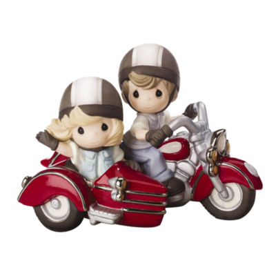 """Precious Moments  """"Forever By Your Side""""  Bisque Porcelain Figurine  #152015"""