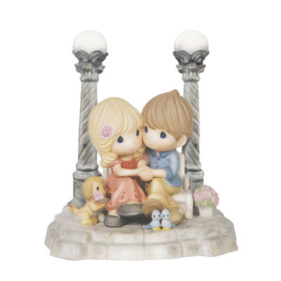"Precious Moments  ""Life Is Beautiful With You""Limited Edition  Bisque Porcelain Sculpture  #143027"