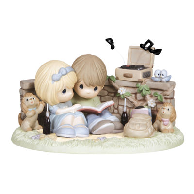 "Precious Moments  ""You Spin My World Around""Bisque Porcelain Sculpture  Limited Edition  #133039"