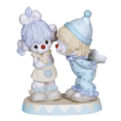 """Precious Moments  """"It's Funny How Much I Love You""""  Bisque Porcelain Figurine  #123011"""