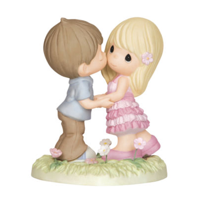 """Precious Moments  """"Always In My Heart""""  BisquePorcelain Figurine  #143004"""