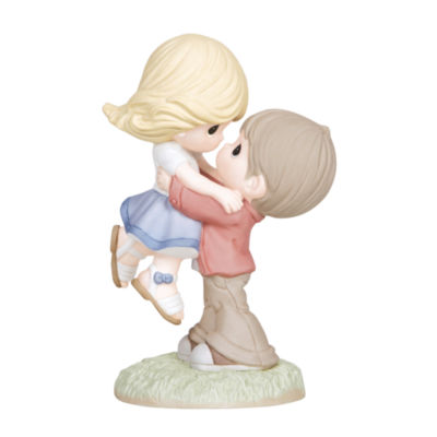 "Precious Moments  ""Your Love Takes Me Higher""Bisque Porcelain Figurine  #133004"