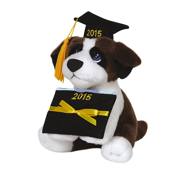 Precious Moments  Stuffed Animal With Gift Card Holder  Dog  #144500