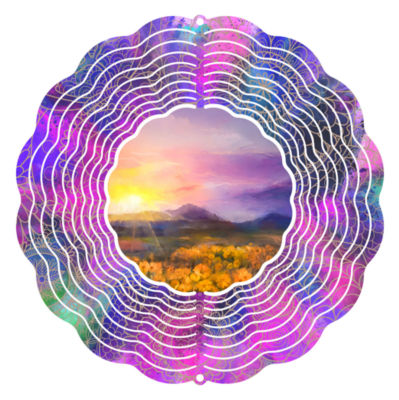 "Wind Spinner Yard Art Fields of Gold 10"" Wind Spinner"