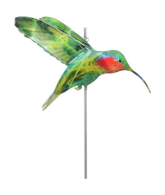 Small Fuschia Hummingbird Windspinner