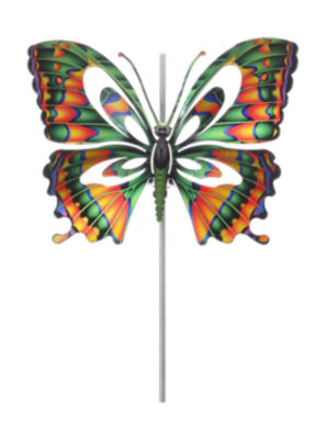 Small Purple Butterfly Windspinner
