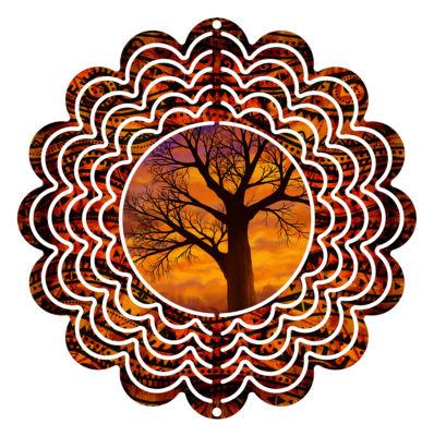 """Wind Spinner Yard Decor Autumnal 6"""" Wind Spinner"""