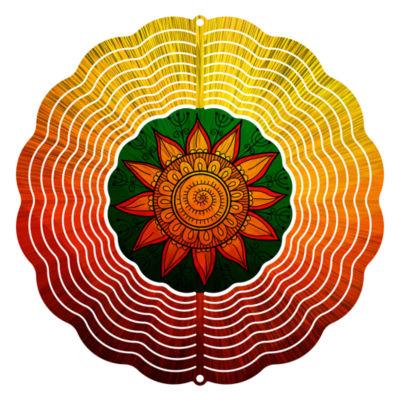 """Wind Spinner Yard Decor Sunflower 10"""" Wind Spinner"""