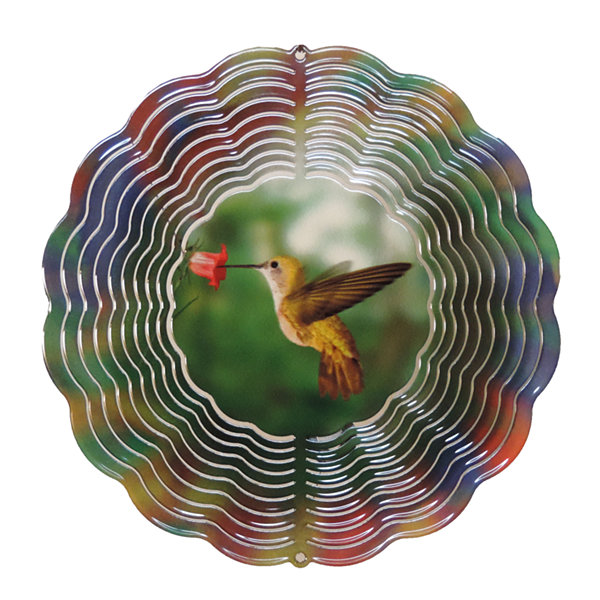 True Image Medium Hummingbird Windspinner