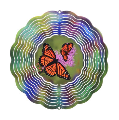 True Image Medium Butterfly Windspinner