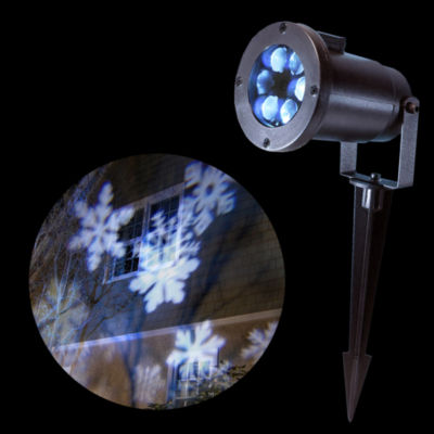 Electric LED Projector Light- Snowflakes