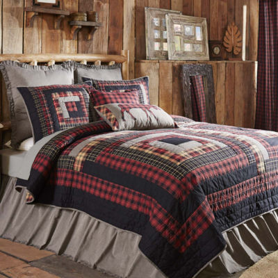 Ashton And Willow Shasta Cabin Reversible Quilt