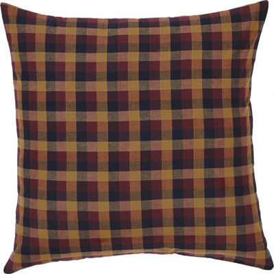 VHC Brands Primitive Check Euro Sham