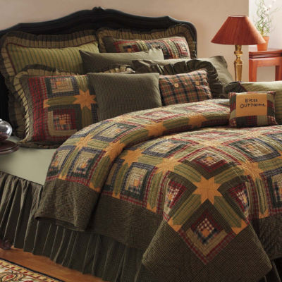 VHC Brands Tea Cabin Quilt & Accessories