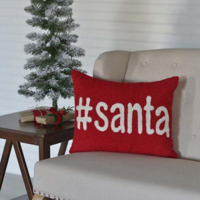 VHC Brands Santa 14 x 18 Pillow
