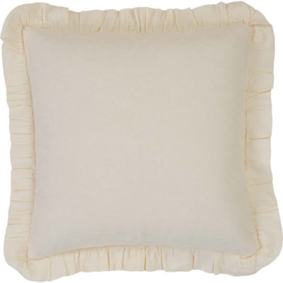 VHC Brands Abigail 18 x 18 Ruffled Down Pillow