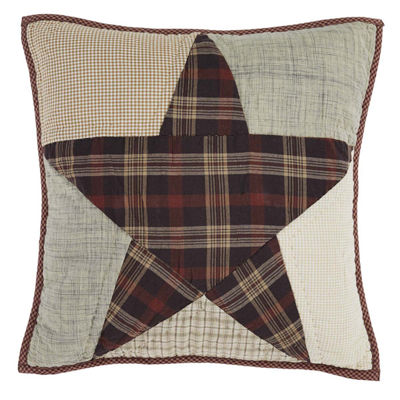 Ashton & Willow Country Star 16 x 16 Quilted Pillow