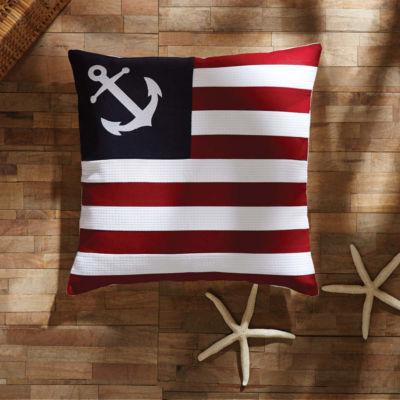 VHC Brands American Ahoy 18 x 18 Pillow