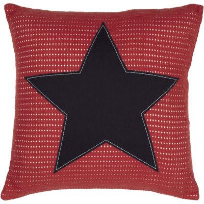VHC Brands American Star Applique 18 x 18 Pillow