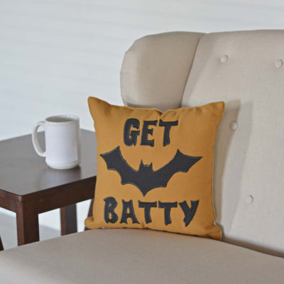 VHC Brands Get Batty 12 x 12 Pillow