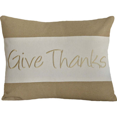 VHC Brands Give Thanks 14 x 18 Pillow