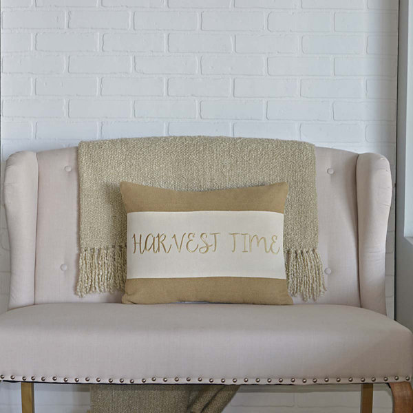 VHC Brands Harvest Time 14 x 18 Pillow
