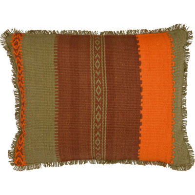 VHC Brands Heather Jacquard 14 x 18 Pillow