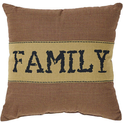 Ashton & Willow Settlement Family 12 x 12 Pillow
