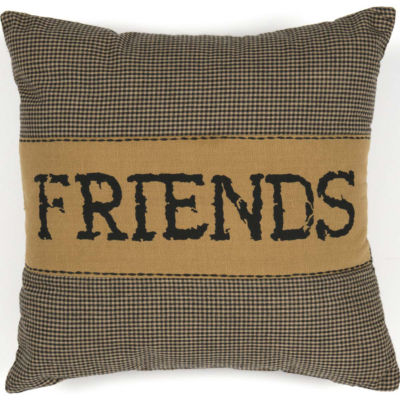 VHC Brands Heritage Farms Friends 12 x 12 Pillow