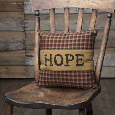 VHC Brands Heritage Farms Hope 12 x 12 Pillow