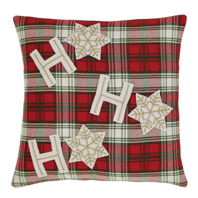 VHC Brands HO HO Holiday 18 x 18 Pillow