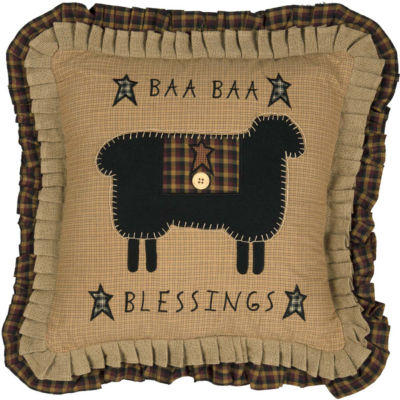 VHC Brands Baa Baa Blessings 18 x 18 Pillow