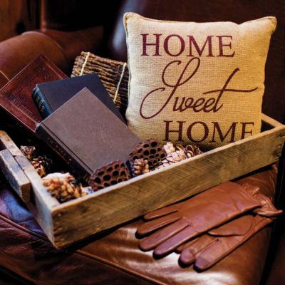 VHC Brands Home Sweet Home 12 x 12 Pillow