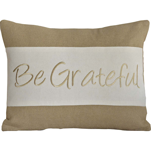 VHC Brands Be Grateful 14 x 18 Pillow