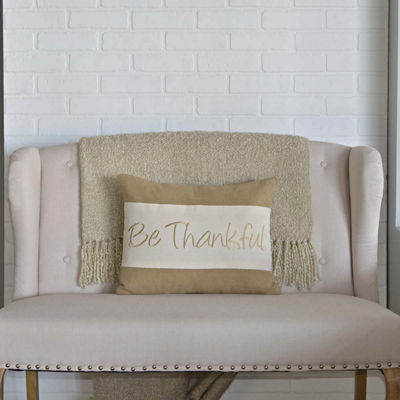 VHC Brands Be Thankful 14 x 18 Pillow
