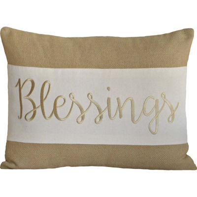 VHC Brands Blessings 14 x 18 Pillow