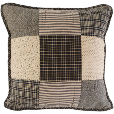 VHC Brands Prim Grove Filled 16 x 16 Quilted Pillow
