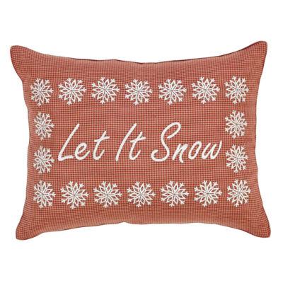 VHC Brands Let It Snow 14 x 18 Pillow
