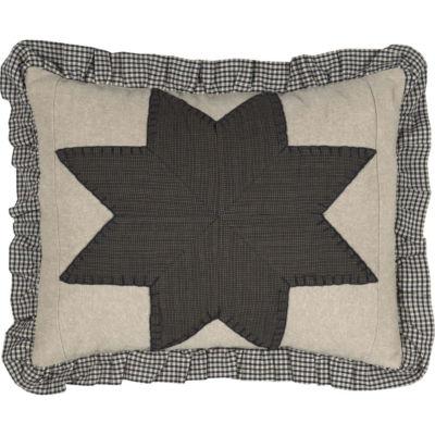 VHC Brands Liberty Stars 14 x 18 Patchwork Pillow