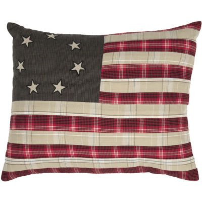 VHC Brands Liberty Stars Flag 14 x 18 Pillow