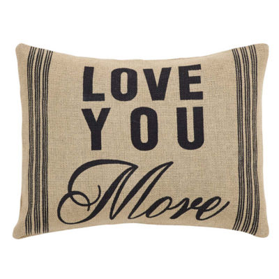 VHC Brands Love You More 14 x 18 Pillow
