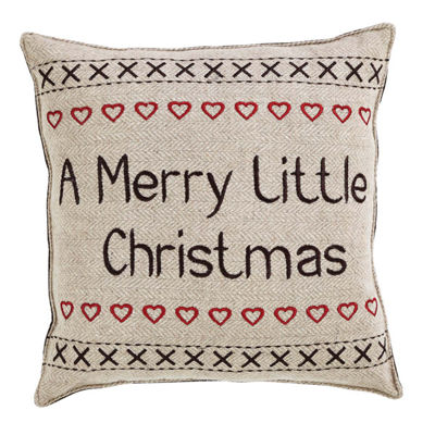 VHC Brands Merry Little Christmas Have Yourself A 12 x 12 Pillow Set