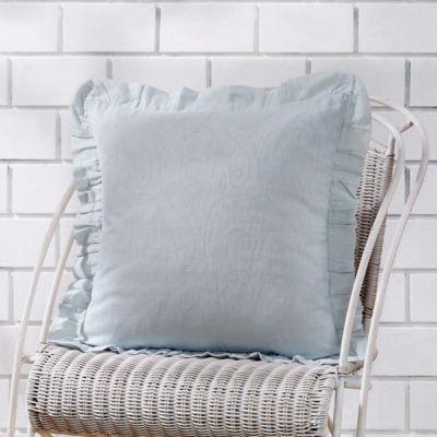 VHC Brands Morgan 18 x 18 Ruffled Down Pillow