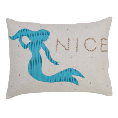 VHC Brands Nerine Mermaid 14 x 18 Pillow