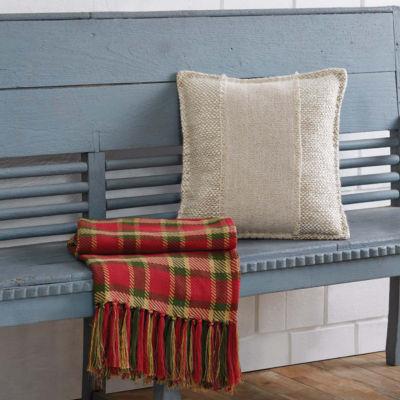 VHC Brands Neve 14 x 18 Patchwork Pillow