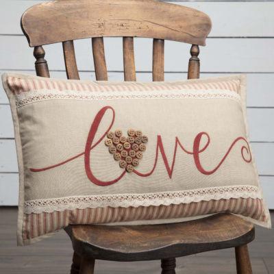 VHC Brands Ozark Love 14 x 22 Pillow