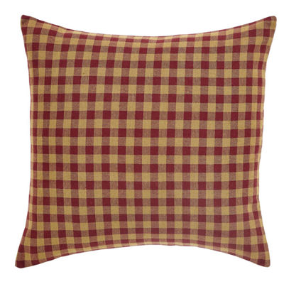 VHC Brands Cody Check 16 x 16 Pillow